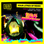 BANKAI vs ABORTIFACIENT - Four Litres Of Remix (Front Cover)