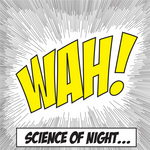 SCIENCE OF NIGHT - Wah! (remixes) (Front Cover)