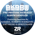 NEGRO,Joey presents AKABU - The Phuture Remixed (Album Sampler) (Front Cover)