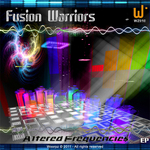 FUSION WARRIORS - Altered Frequencies (Front Cover)
