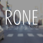 RONE - Giving My Love (Front Cover)