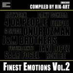 RIK ART/VARIOUS - Finest Emotions Vol 2 (compiled By Rik Art) (Front Cover)