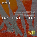 BON - Do That Thing (Front Cover)