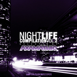 VARIOUS - Night Life DJ Compilation Vol 2 (Seletected by Axamathic) (Front Cover)
