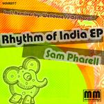 PHARELL, Sam - Rhythm Of India EP (Front Cover)