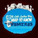 K LAB/SACHA VEE - Need To Know (The Full Phat remixes) (Front Cover)