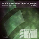 SKY FLIGHT/CARL OVERNET - Shining (Front Cover)