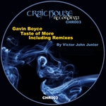 BOYCE, Gavin - Taste Of More (Front Cover)