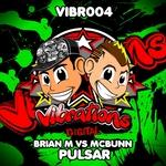 BRIAN M vs MCBUNN - Pulsar (Front Cover)