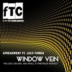 AFREAKWENT feat LULU FONDA - Window Vein (Front Cover)