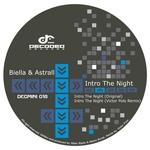 BIELLA & ASTRALL - Intro The Night (Front Cover)