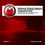 TASH & STAGE VAN H - Trainspotters (Front Cover)