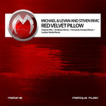 MICHAEL & LEVAN/STIVEN RIVIC - Red Velvet Pillow (Front Cover)