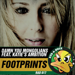 DAMN YOU MONGOLIANS feat KATIES AMBITION - Footprints (Front Cover)