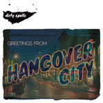 DIRTY SPELLS - Greetings From Hangover City (Front Cover)