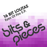 16 BIT LOLITAS/NICK NIKOLOV - Eyes Of Fire EP (Front Cover)