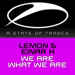 LEMON/EINAR K - We Are What We Are (Front Cover)