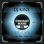 DJ KINX - Talk The Talk EP (Front Cover)