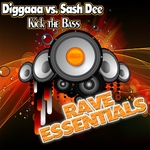 DIGGAAA vs SASH DEE - Kick The Bass (Front Cover)