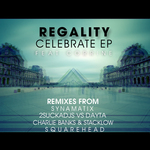 REGALITY feat CORRINE - Celebrate EP (Front Cover)