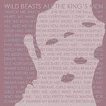 WILD BEASTS - All The King's Men (Front Cover)