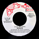VARIOUS - Fall In Love Riddim (Front Cover)