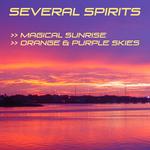 SEVERAL SPIRITS - Magical Sunrise Orange & Purple Skies (Front Cover)