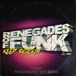RENEGADES OF FUNK - Keep Rockin (Front Cover)