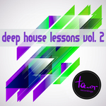 VARIOUS - Deep House Lessons Vol 2 (Front Cover)