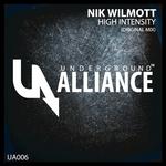 WILMOTT, Nik - High Intensity (Front Cover)