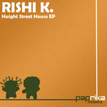 RISHI K - Haight Street House EP (Front Cover)