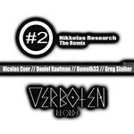 NIKKOLAS RESEARCH - The remix #2 (Front Cover)