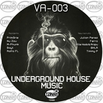 VARIOUS - Underground House Music 003 (Front Cover)