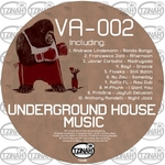 VARIOUS - Underground House Music 002 (Front Cover)