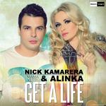 NICK KAMARERA/ALINKA - Get A Life - Mama Yette (Front Cover)