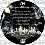 VARIOUS - Underground House Music 001 (Front Cover)