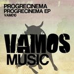 PROGRECINEMA - Progrecinema EP (Front Cover)