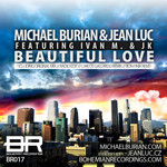 MICHAEL BURIAN/JEAN LUC - Beautiful Love (Front Cover)
