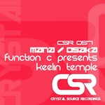 FUNCTION C presents KEELIN TEMPLE - Mana/Osaka (Front Cover)