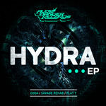 CODA/SAVAGE REHAB/FLAT T - Hydra EP (Front Cover)