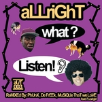 ALLRIGHT - What? Listen! (Front Cover)