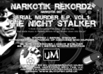 TRIPPED/NOISEKICK/THE DESTROYER/BONE - Serial Murder EP Vol 1 (Front Cover)