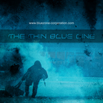BLUEZONE CORPORATION - The Thin Blue Line (Sample Pack WAV) (Front Cover)