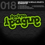 MICROCHEEP/MOLLO/DOLBY D - Bunker EP (Front Cover)