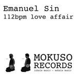 SIN, Emanuel - 112bpm Love Affair (Front Cover)
