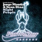 MONTIA, Jorge/JUAN DIAZ - Night People (Front Cover)