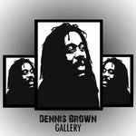 BROWN, Dennis - The Reggae Artists Gallery (Platinum Edition) (Front Cover)