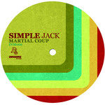 SIMPLES JACK - Martial Coup (Front Cover)