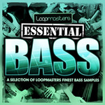 LOOPMASTERS - Essentials 10: Bass (Sample Pack WAV) (Front Cover)