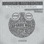 EGOISM/MINITRONIX - Phenomenon Kirghi (Front Cover)